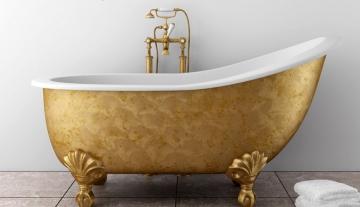 Из какого материала изготавливаются вставки для старых ванн
