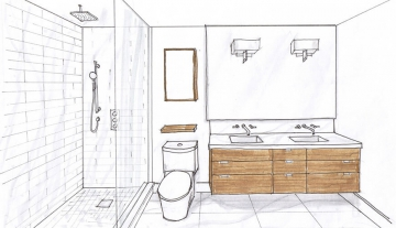 Технический дизайн или с чего начинается ремонт ванной комнаты или туалета