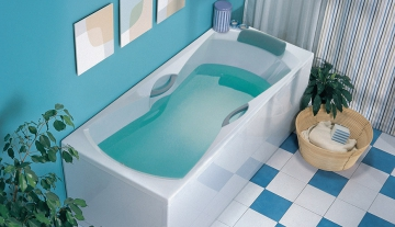 Особенности акриловых ванн. Выбор нужной сантехники в интернет магазине