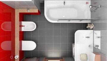 Объединение ванны и туалета. Все плюсы и минусы совмещённого санузла
