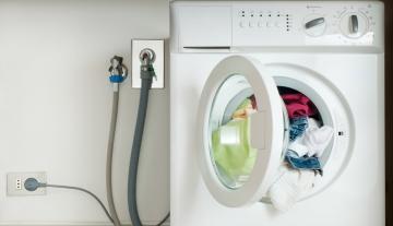 Особенности подключения стиральной машинки в малогабаритной квартире