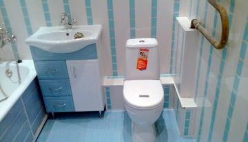 Ремонт ванной комнаты пластиковыми панелями ПВХ. Плюсы и минусы этого материала