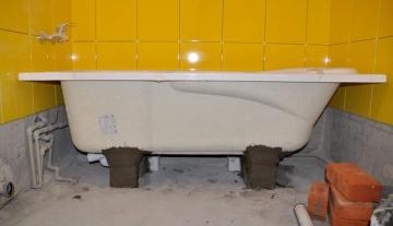 Меняем ванну с чугунной на стальную. Как правильно провести замену